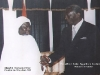 Shaykh Hassan Cisse and the President of Ghana