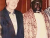 Shaykh Hassan Cisse and the Former U.S President