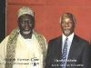 Shaykh Hassan Cisse and the President of South Africa