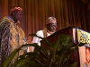 Shaykh Hassan Cisse Delivering Invocation at 2004 Africare Bishop Walker Dinner